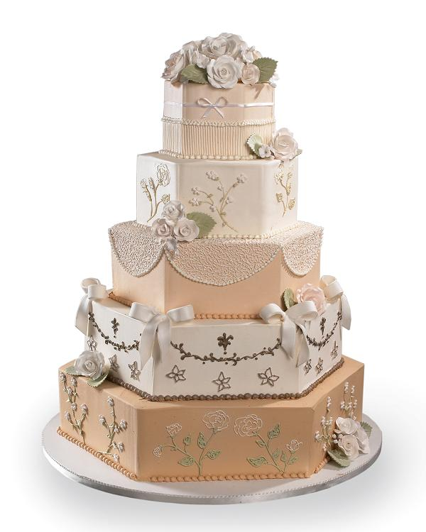 Antique Charm Cake