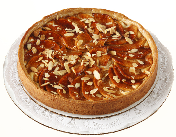 Apple Almond Cheese Tart