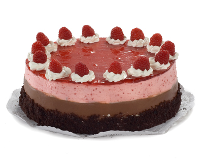 Chocolate rasberry torte