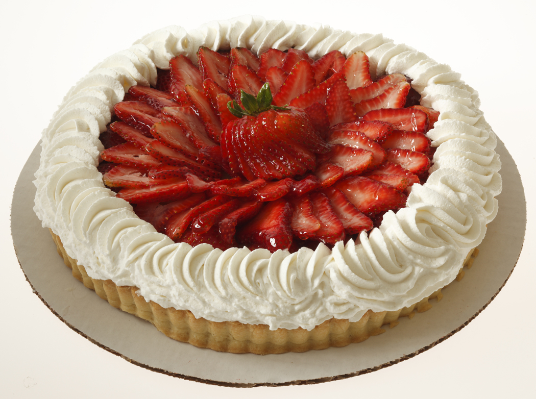 Strawberry Shortcake Tart