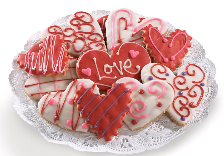 Valentine Cutout Cookies