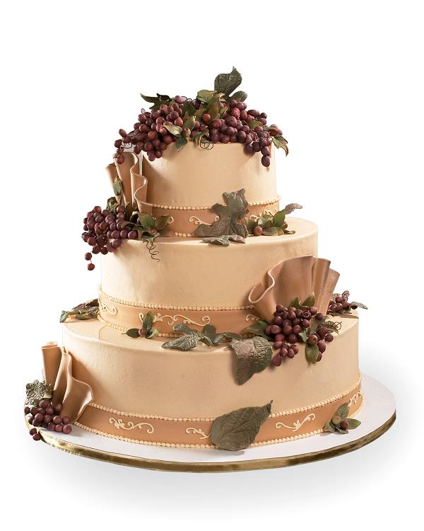 Cake Design Catalogue : Winery Wedding Design Cake - Product Details